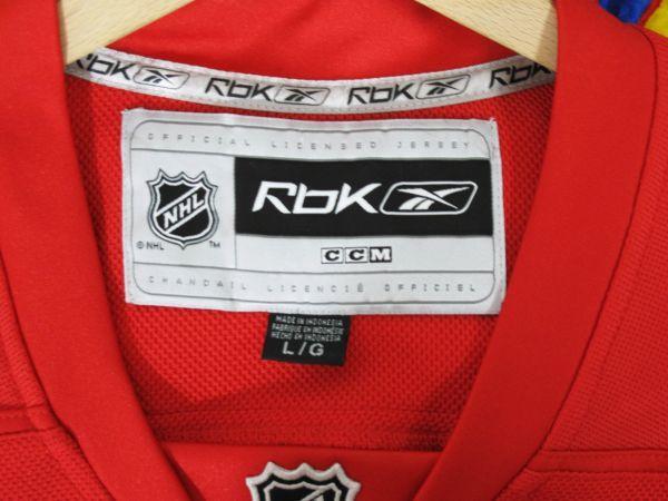 NHL DETROIT RED WINGS ジャージ ICE HOCKEY アイスホッケー HIP HOP 2PAC 着用_画像2