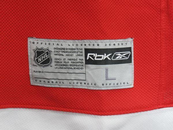 NHL DETROIT RED WINGS ジャージ ICE HOCKEY アイスホッケー HIP HOP 2PAC 着用_画像5