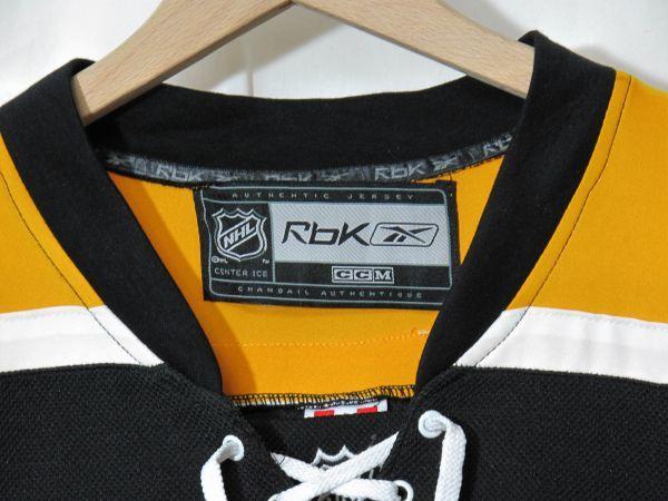 NHL BOSTON BRUINS 『MILAN LUCIC』 ジャージ カナダ製 ICE HOCKEY アイスホッケー REEBOK HIP HOP_画像5