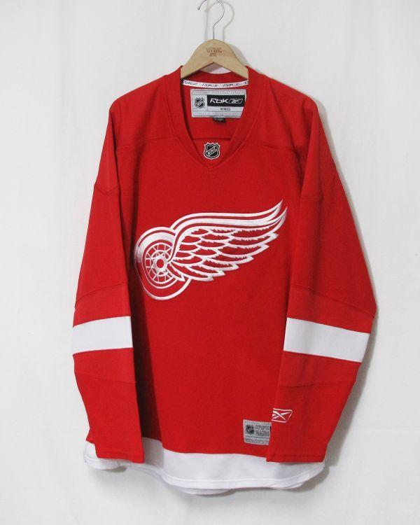 NHL DETROIT RED WINGS ジャージ ICE HOCKEY アイスホッケー HIP HOP 2PAC 着用