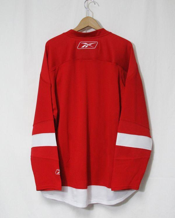 NHL DETROIT RED WINGS ジャージ ICE HOCKEY アイスホッケー HIP HOP 2PAC 着用_画像6