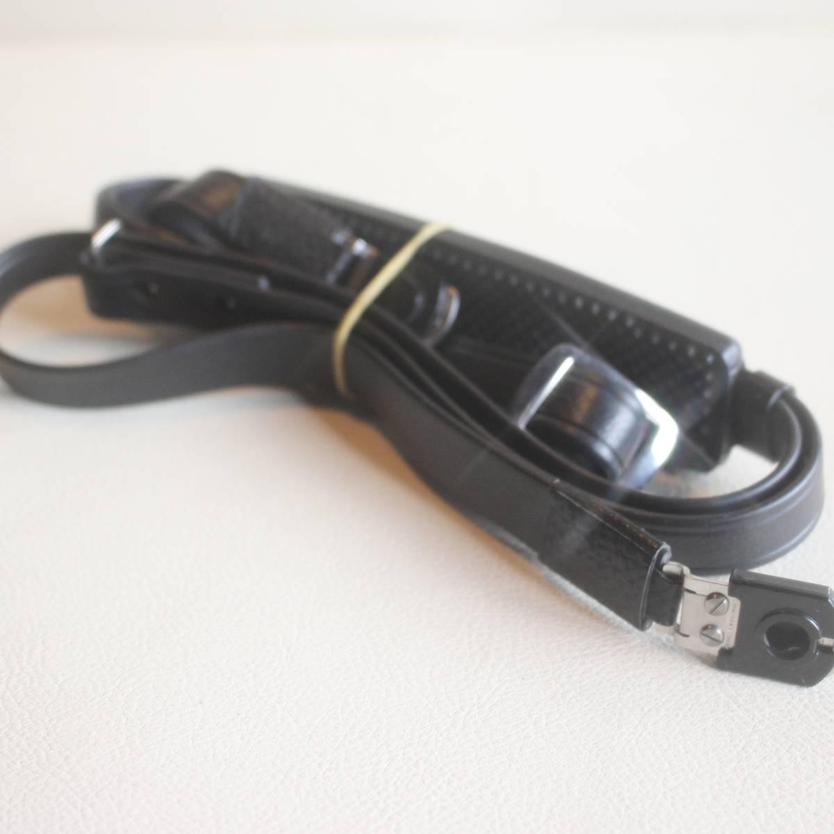 ゼンザ ブロニカ ZENZA BRONICA ストラップ 黒色 ブラック 金具付き (S2後期 ~ ECシリーズ 用) ★(68)_画像2