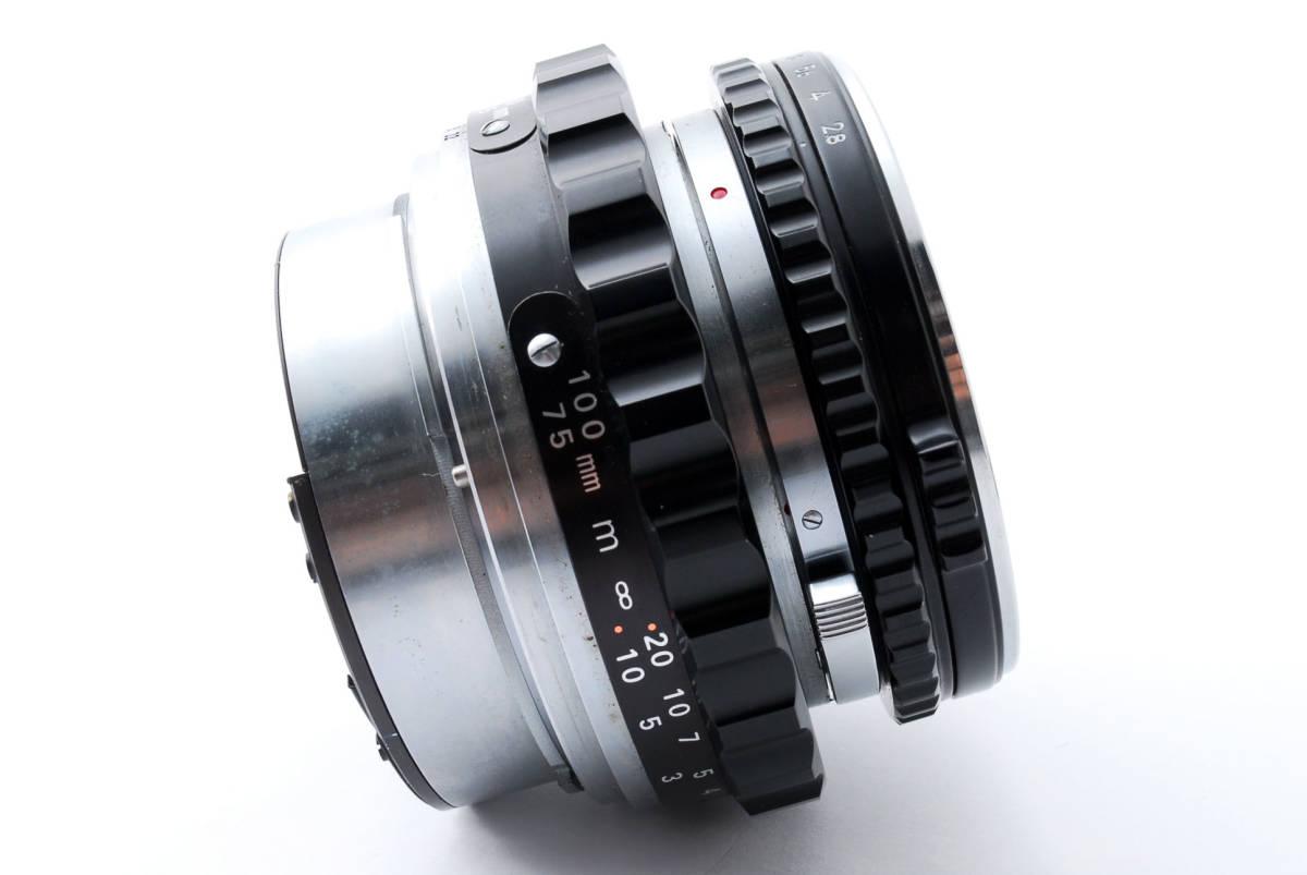 ★綺麗★ Bronica Nikkor-P 75mm F2.8 + ラバーフード + レンズフィルター ・ ゼンザブロニカ ★420564(68)_画像6