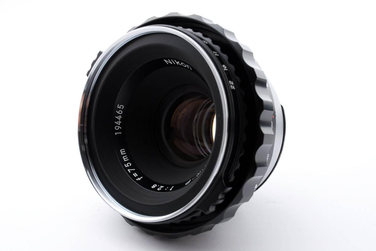 ★綺麗★ Bronica Nikkor-P 75mm F2.8 + ラバーフード + レンズフィルター ・ ゼンザブロニカ ★420564(68)_画像10