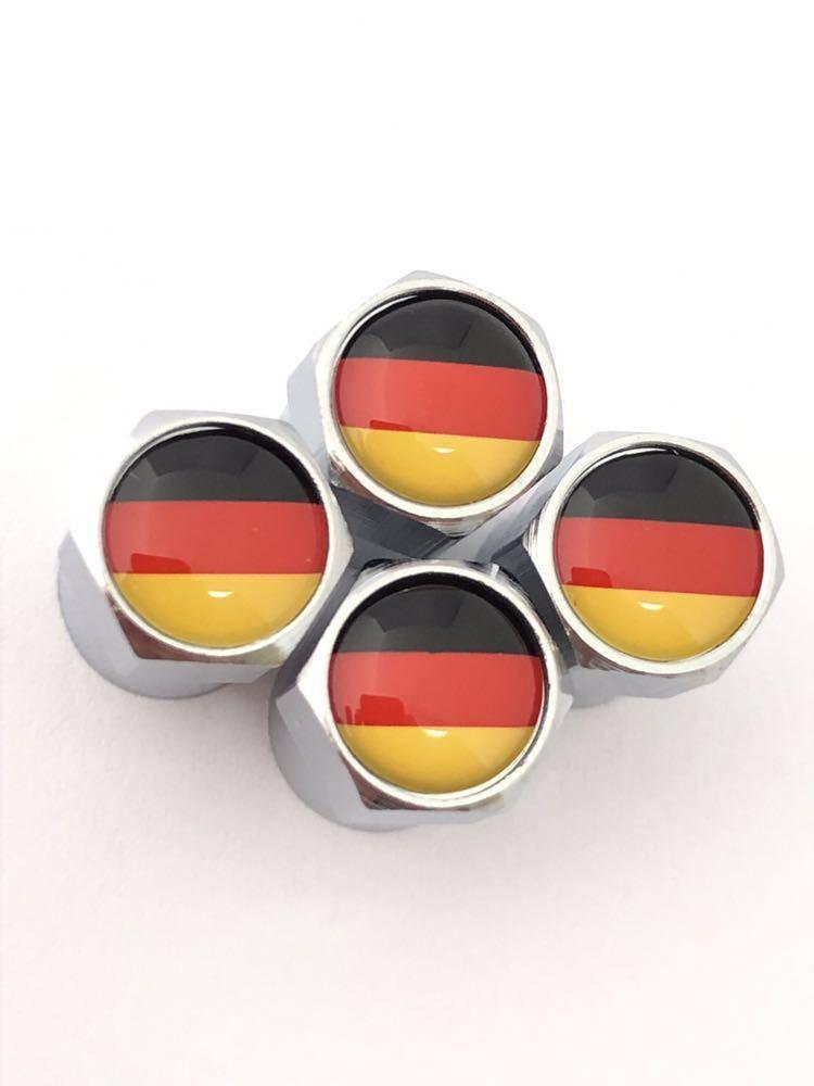 E ドイツ 国旗 バルブキャップ エンブレム ステッカー フェンダー ベンツ AMG Aクラス Bクラス Cクラス CL CLA CLK CLS Eクラス GLA GLC_画像3
