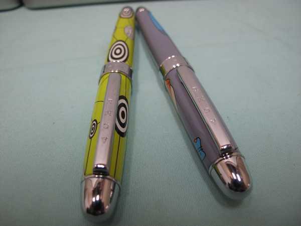 ACME ボールペン2本セット(173)アクメ ボールペン 長さ13.6cm 幅14.4mm ケース付  文房具  筆記用具 _画像6
