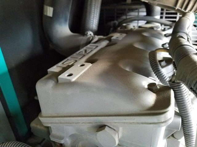 デンヨー 発電機 DCA-25ESIB 25KVA 9.750時間 軽油 単相3線 三相4線 切替仕様 ビックタンク 栃木県_画像5