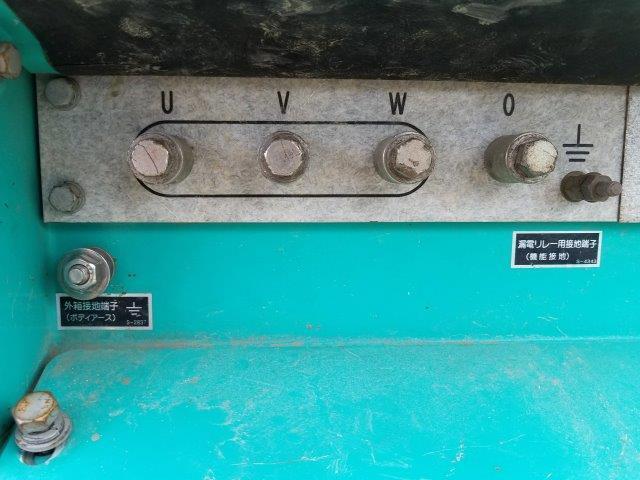 デンヨー 発電機 DCA-25ESIB 25KVA 9.750時間 軽油 単相3線 三相4線 切替仕様 ビックタンク 栃木県_画像10