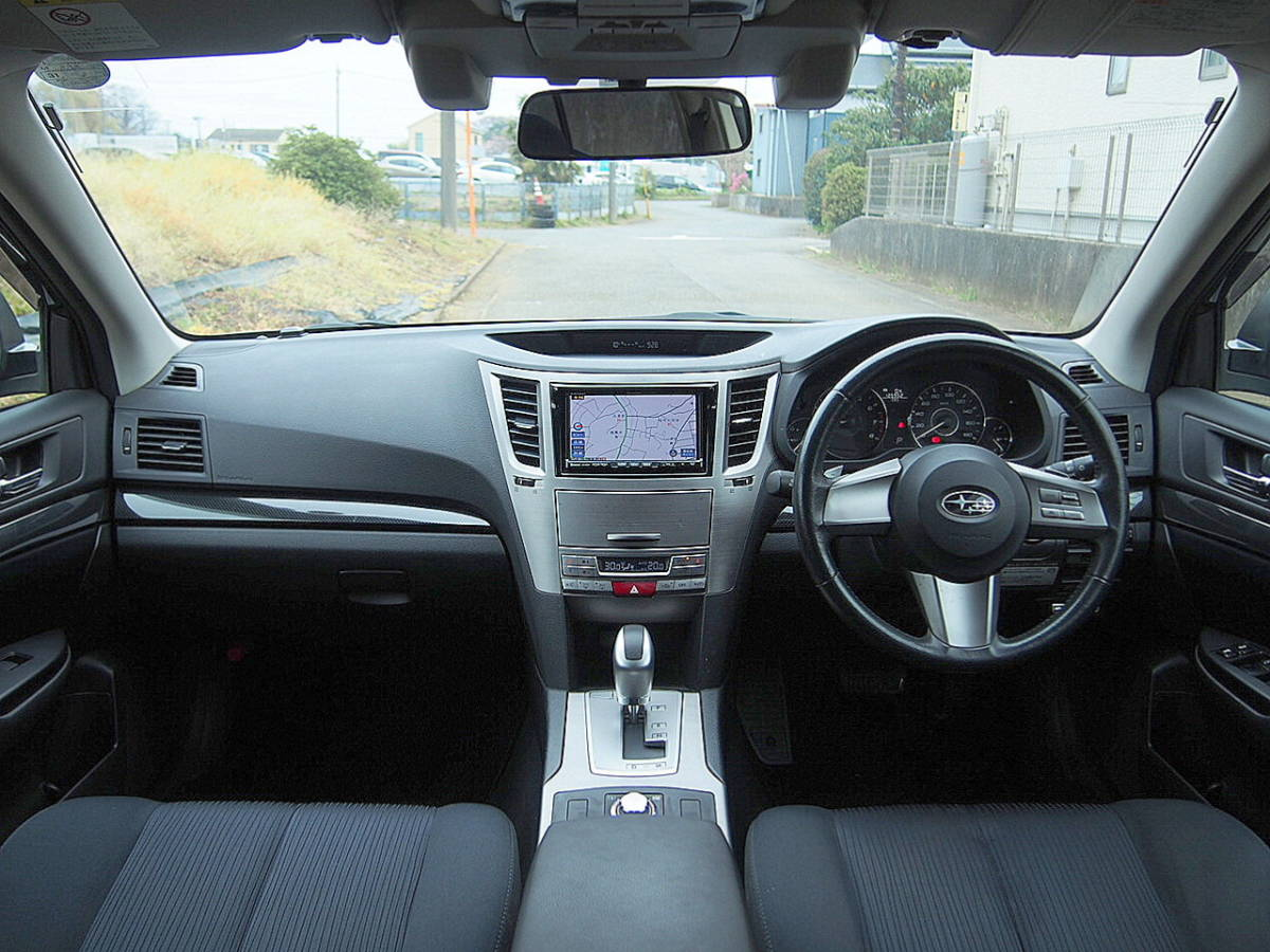 車検33年4月 アイサイト 23年 レガシィW 2.5i 4WD レーダークルコン プリクラッシュ HDDナビ 地デジ リアカメラ ETC SI-DRIVE スマートキー_画像3