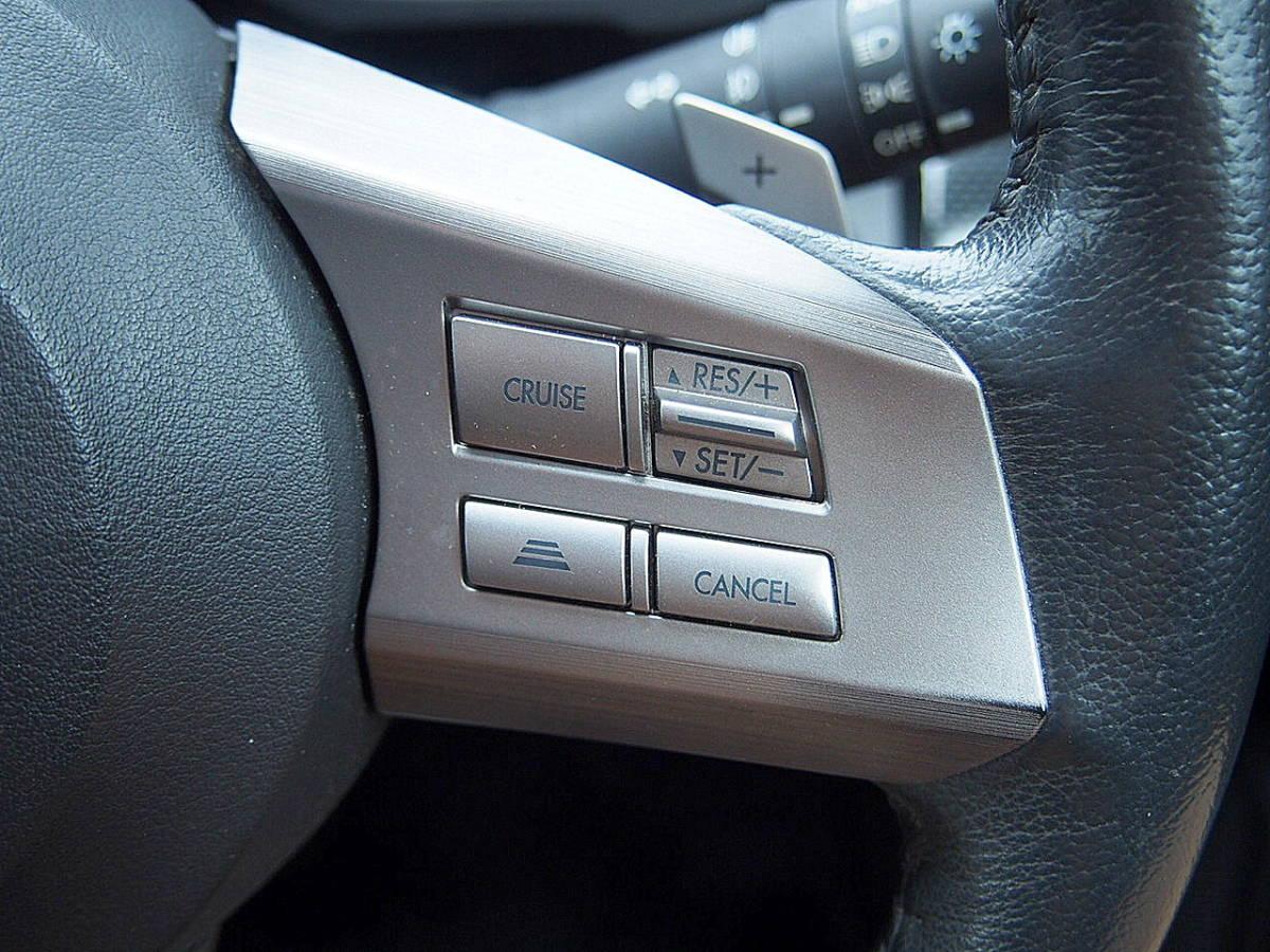 車検33年4月 アイサイト 23年 レガシィW 2.5i 4WD レーダークルコン プリクラッシュ HDDナビ 地デジ リアカメラ ETC SI-DRIVE スマートキー_画像7