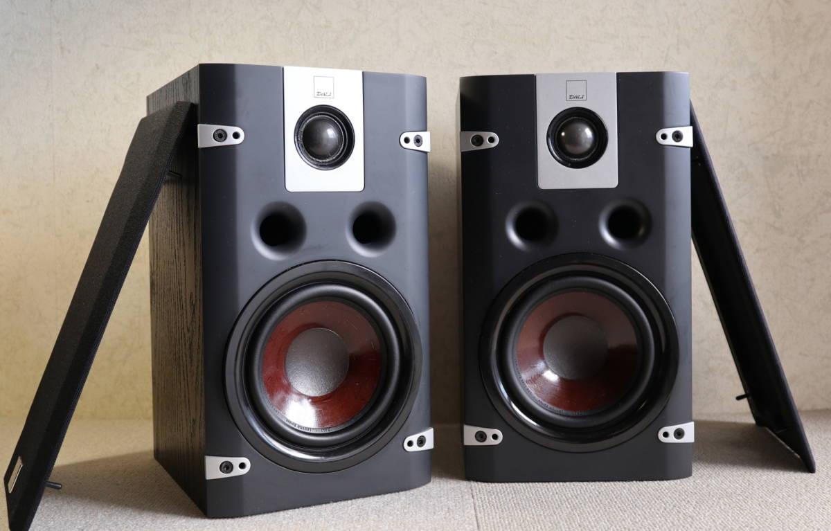★美品★ DALI ダリ:LEKTOR2 レクトール2 ブックシェルフ型システムスピーカー ペア(ブラック)