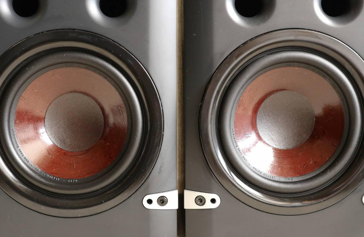 ★美品★ DALI ダリ:LEKTOR2 レクトール2 ブックシェルフ型システムスピーカー ペア(ブラック)_画像3