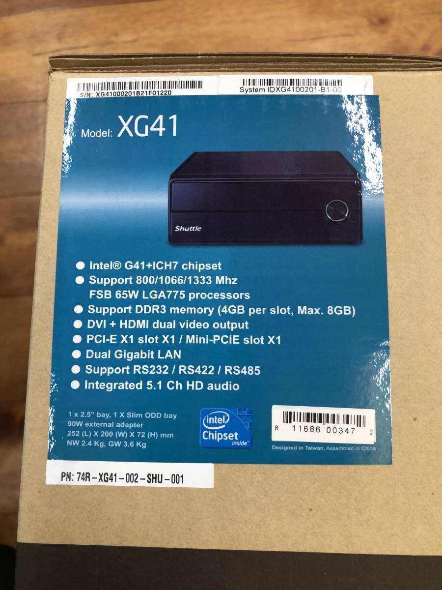 ☆Shuttle シャトル XG41 ベアボーンキット Core 2 Duo E8500 8GBメモリ付き_画像8