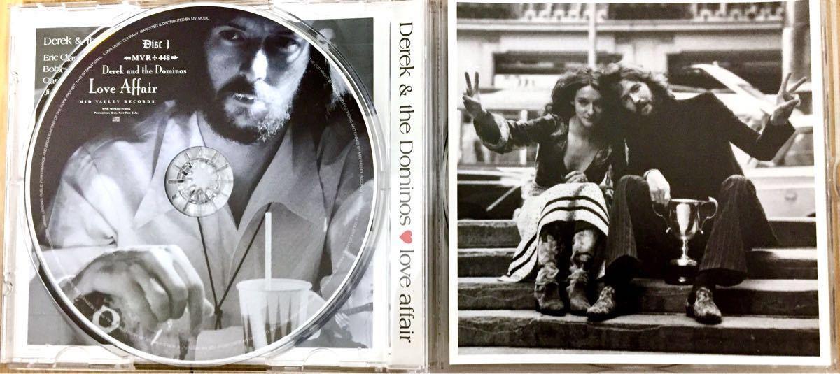 DEREK & THE DOMINOS 「love affair」MID VALLEY 2CD ERIC CLAPTON / デレク&ザ・ドミノス / エリック クラプトン_画像3