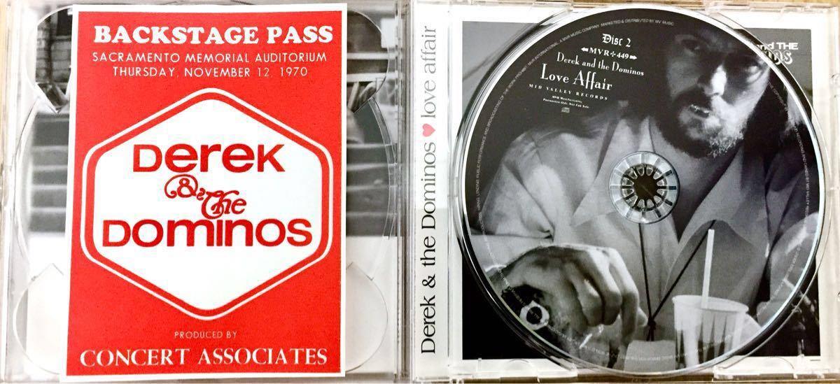 DEREK & THE DOMINOS 「love affair」MID VALLEY 2CD ERIC CLAPTON / デレク&ザ・ドミノス / エリック クラプトン_画像4