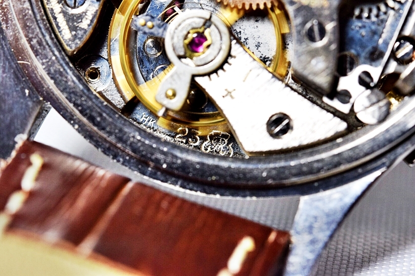 売切り!!1円~激希少★ROLEX OYSTER ロレックス プリデイトナ 初期文字盤 バルジュー23 手巻き クロノグラフ 腕時計 1940's 検)Ref.2811 _画像10