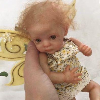 てのりフェアリー ミニリボーンドール リボーンベビー 赤ちゃんフェアリー リアルな妖精