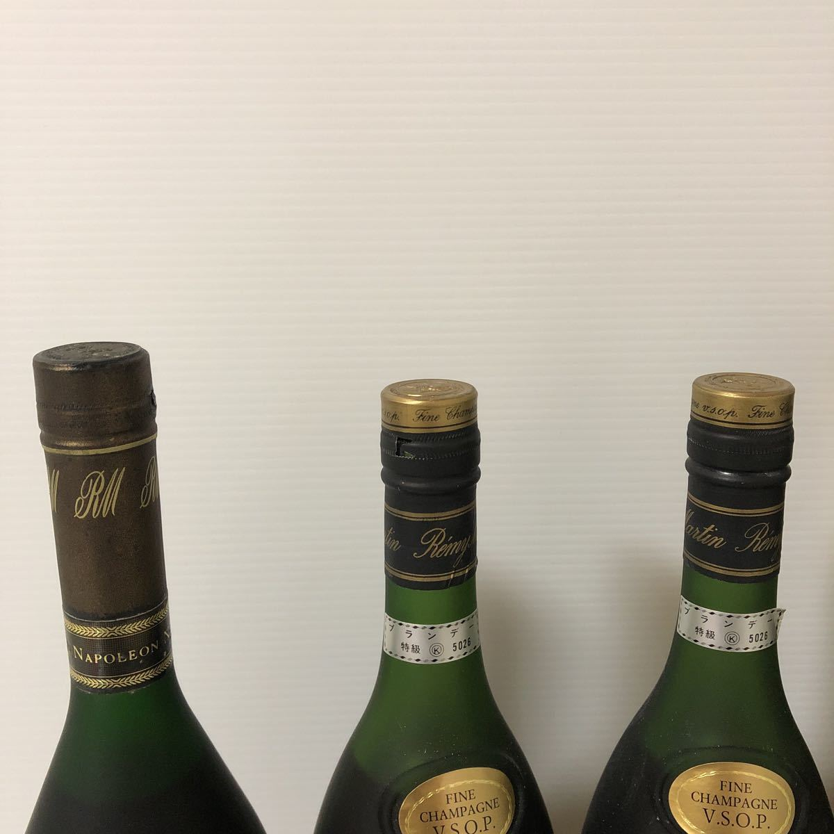 【古酒】REMY MARTIN レミーマルタン ナポレオン 未開栓 計3本セット_画像4