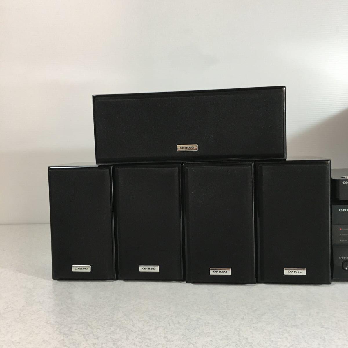 ONKYO オンキョー SA-205HDX ST-V30HDX SWA-V30HDX D-108M ND-S1 サラウンドセット リモコン付き_画像2