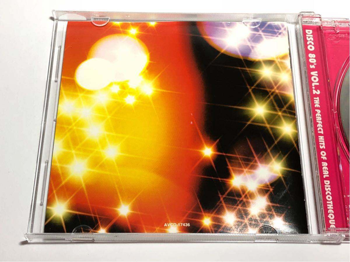 ☆AVCD-17436 DISCO '80s VOL.2 THE PERFECT HITS OF REAL DISCOTHEQUE ディスコ・エイティーズ_画像4