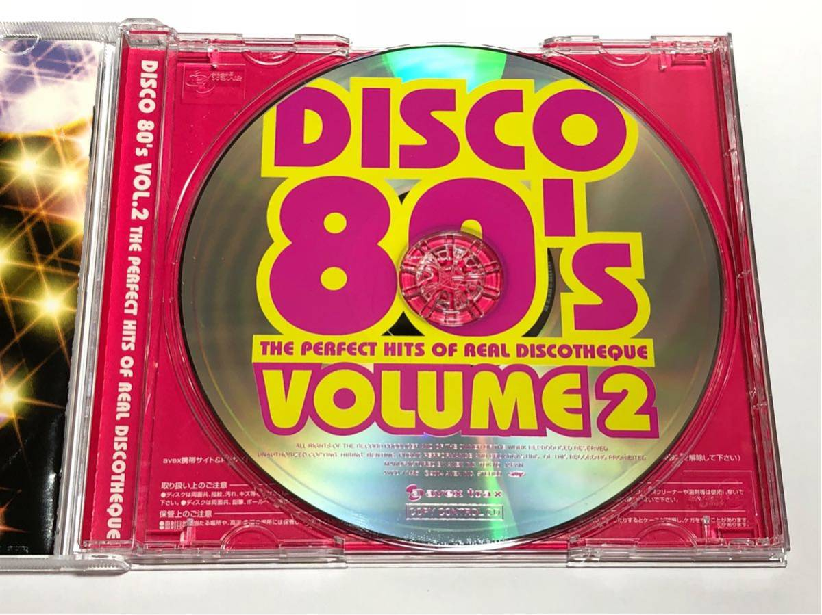 ☆AVCD-17436 DISCO '80s VOL.2 THE PERFECT HITS OF REAL DISCOTHEQUE ディスコ・エイティーズ_画像3