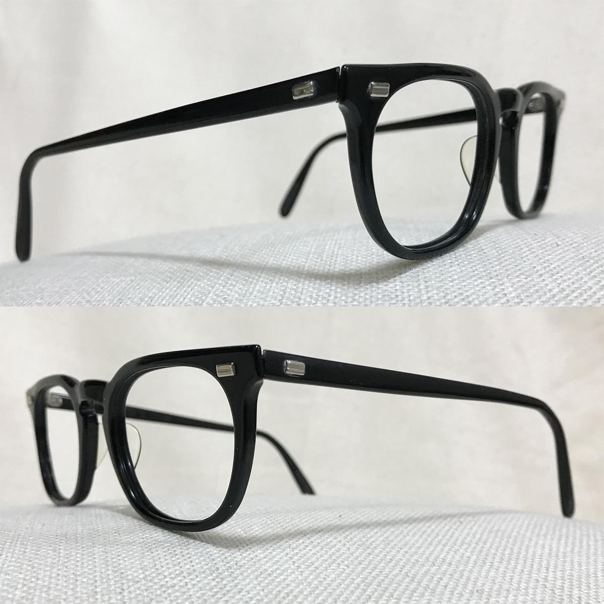 レア個体☆1960s American Optical アメリカンオプティカル ウェリントンフレーム ビンテージ眼鏡 アンティークメガネ_画像3