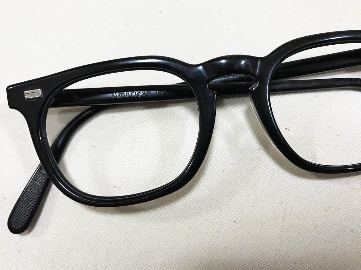レア個体☆1960s American Optical アメリカンオプティカル ウェリントンフレーム ビンテージ眼鏡 アンティークメガネ_画像1