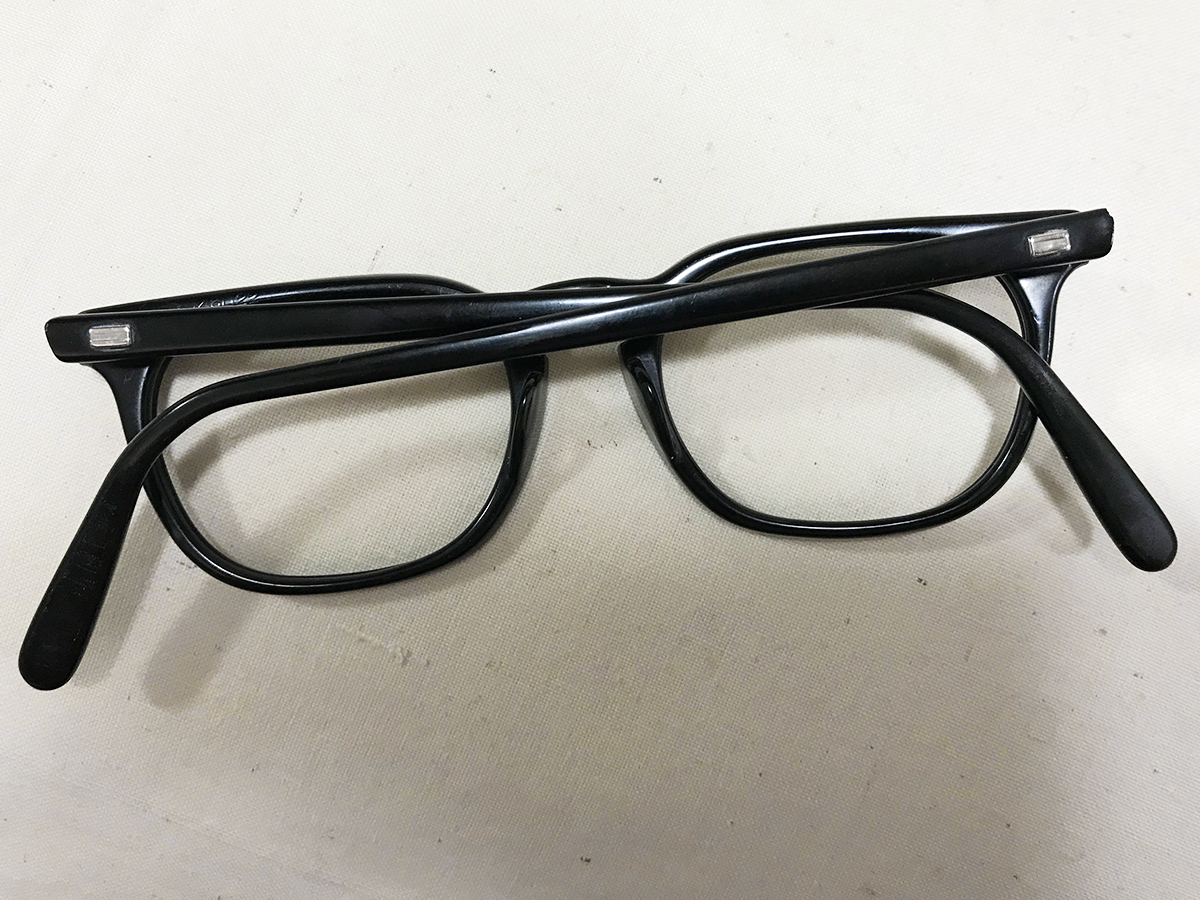 レア個体☆1960s American Optical アメリカンオプティカル ウェリントンフレーム ビンテージ眼鏡 アンティークメガネ_画像7