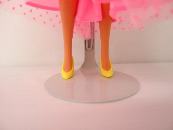 HSC0053さ バービー Barbie 人形 1966 1976 ロングヘアー 金髪 ヴィンテージ 全長約29cm_画像5