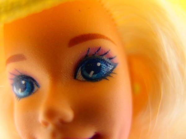 HSC0053さ バービー Barbie 人形 1966 1976 ロングヘアー 金髪 ヴィンテージ 全長約29cm_画像6