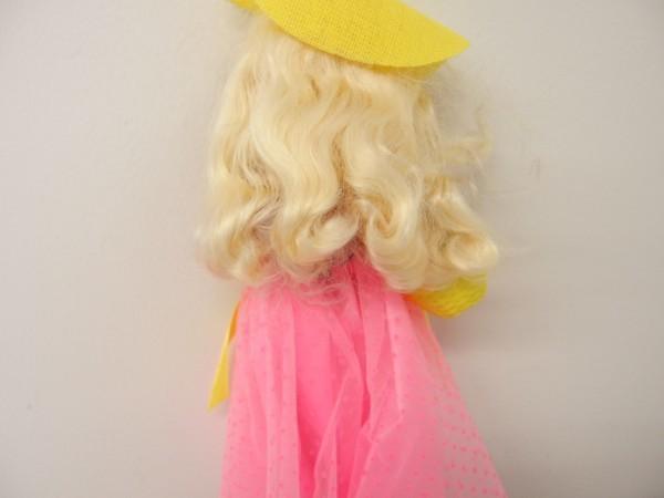 HSC0053さ バービー Barbie 人形 1966 1976 ロングヘアー 金髪 ヴィンテージ 全長約29cm_画像8
