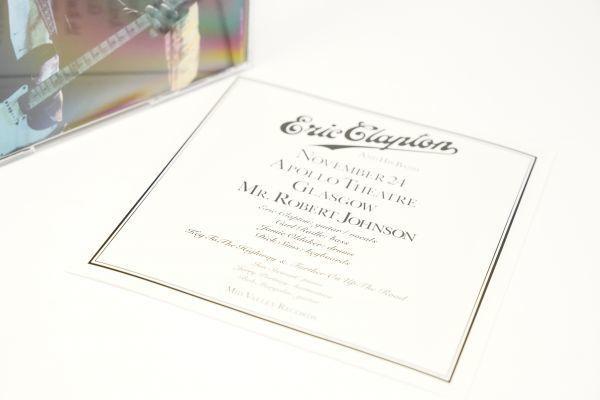 [Buy It Now!][Bootleg] Eric Clapton - Mr. Robert Johnson 2CD mid valley (検 empress valley tarantura) japan limited_画像6