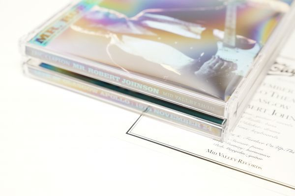 [Buy It Now!][Bootleg] Eric Clapton - Mr. Robert Johnson 2CD mid valley (検 empress valley tarantura) japan limited_画像8