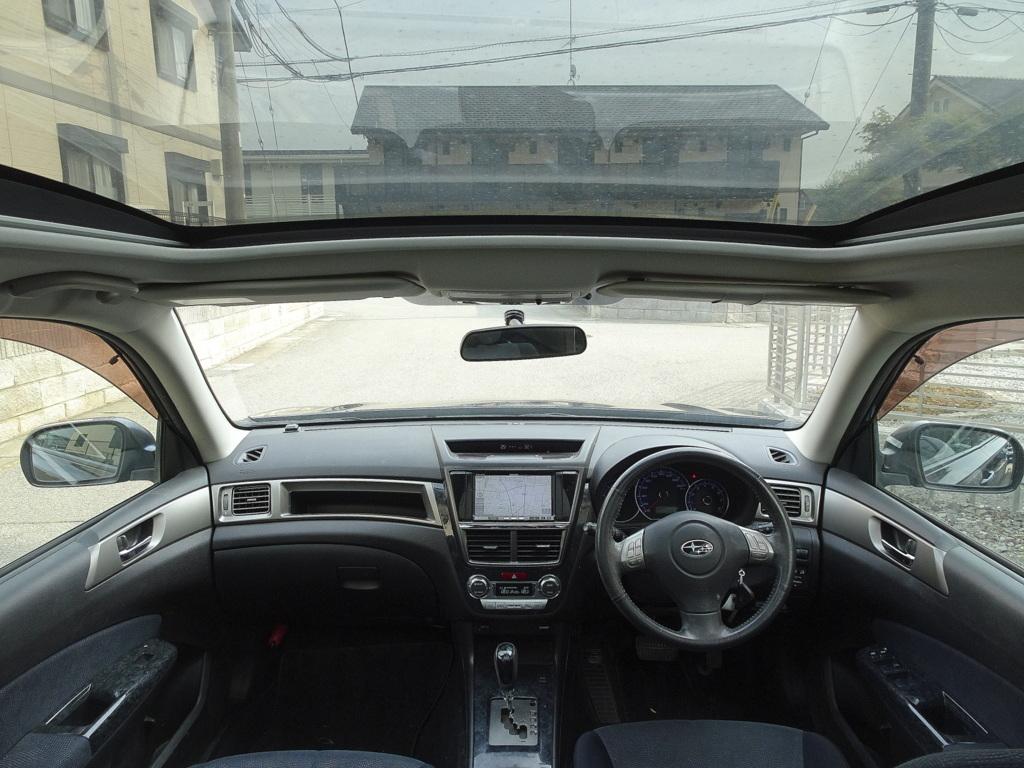 4WD 21年式 エクシーガ 車検32年5月30日 HDDナビ 地デジTV バックモニター DVD再生機能 MSサーバ Bluetooth パノラミックルーフ HID ETC_画像5