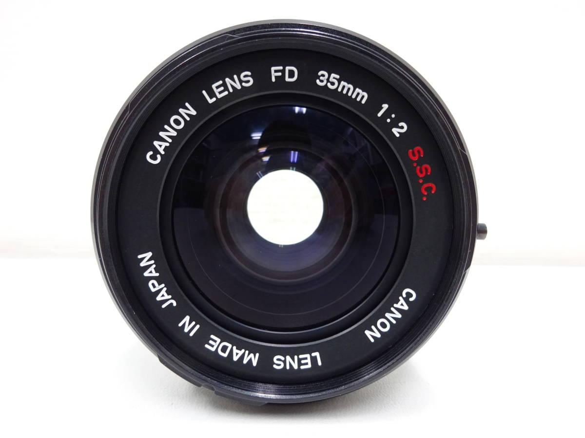 ◆◇Canon A-1/CANON LENS FD 35mm 1:2 S.S.C. キャノン カメラ 動作未確認 ジャンク扱い◇◆_画像9