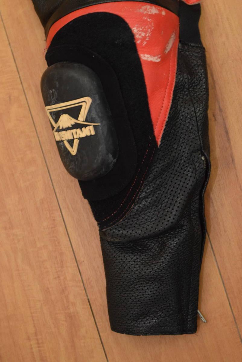 KUSHITANI クシタニ レーシングスーツ MFJ公認 サイズL バンクセンサー付き DUCATIのロゴ付 (革ツナギ ドゥカティ_画像5
