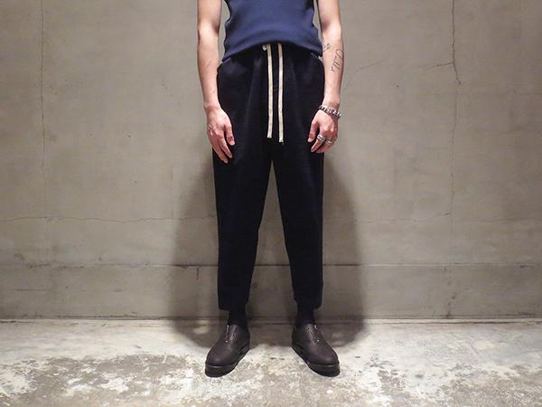 SUNSEA Dry Cotton Pants 16SS ブラック サイズ3 ナイスマテリアル型