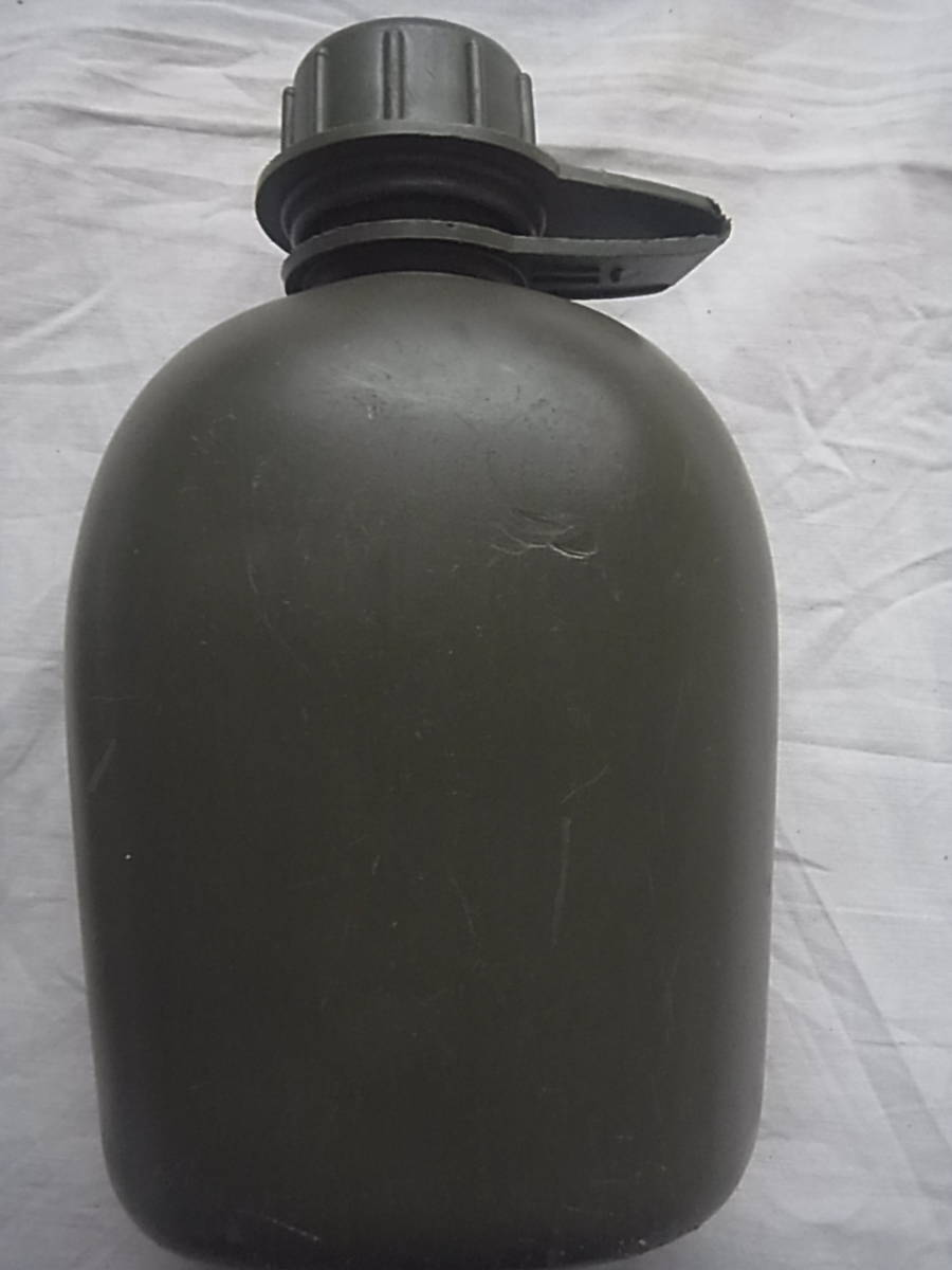 実物 ローデシア軍 P69戦闘装備 水筒セット 金属カップ付き キャンティーン セルーススカウト SAS RECCE 特殊部隊_画像9