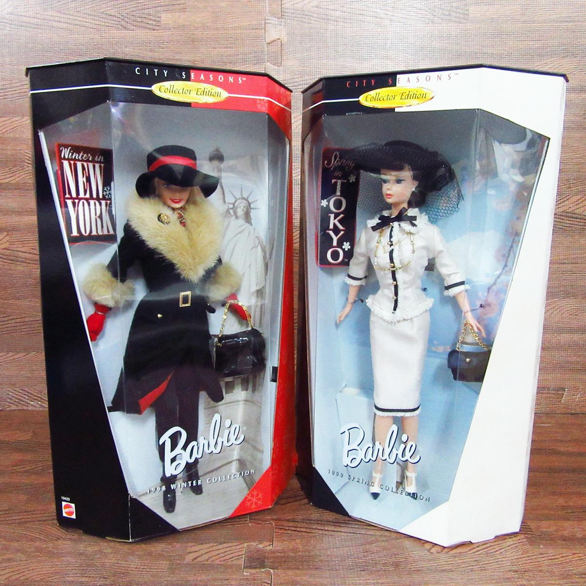 未使用 箱入り Barbie バービー 8点セット MATTEL マテル ドール 人形 8体 まとめ 玩具 東E_画像2