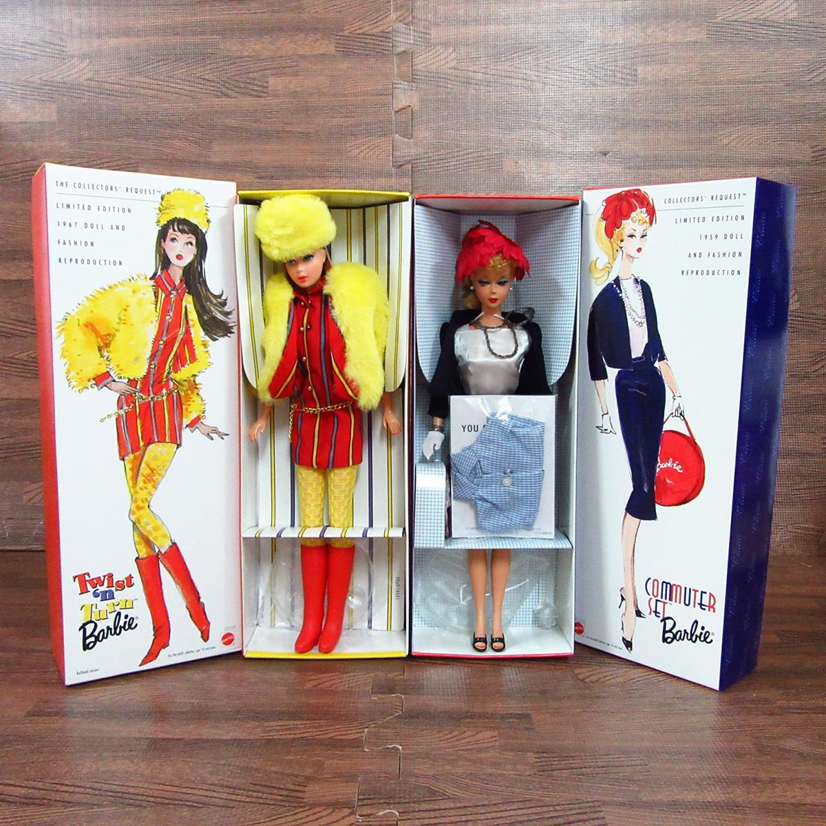 未使用 箱入り Barbie バービー 8点セット MATTEL マテル ドール 人形 8体 まとめ 玩具 東E_画像3