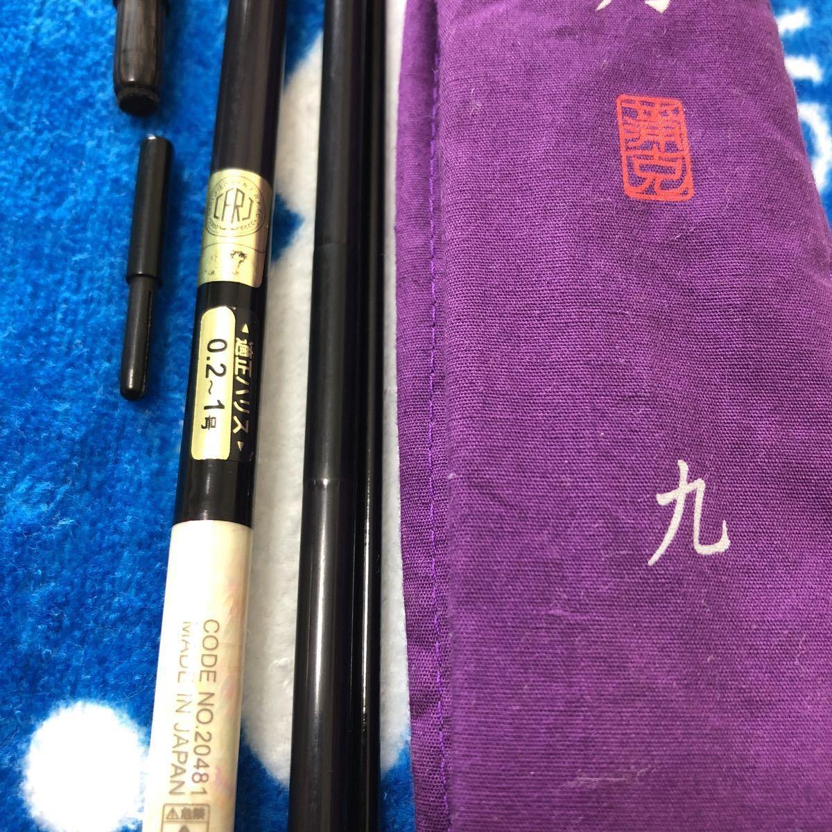 ヘラブナ竿 がまかつ紫峰天月九尺_画像9