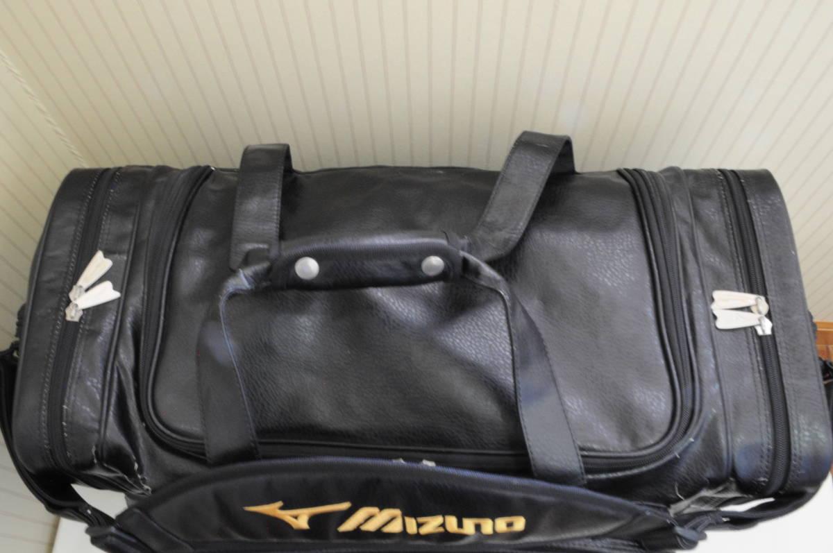 MIZUNOPROミズノプロ空手遠征バッグ(表面の刺繍は取り外し可能)1円出品野球サッカーバレーボールスポーツショルダーボストンバッグ鞄カバン_画像2
