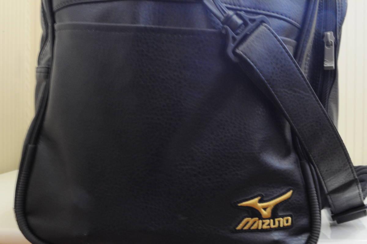 MIZUNOPROミズノプロ空手遠征バッグ(表面の刺繍は取り外し可能)1円出品野球サッカーバレーボールスポーツショルダーボストンバッグ鞄カバン_画像6