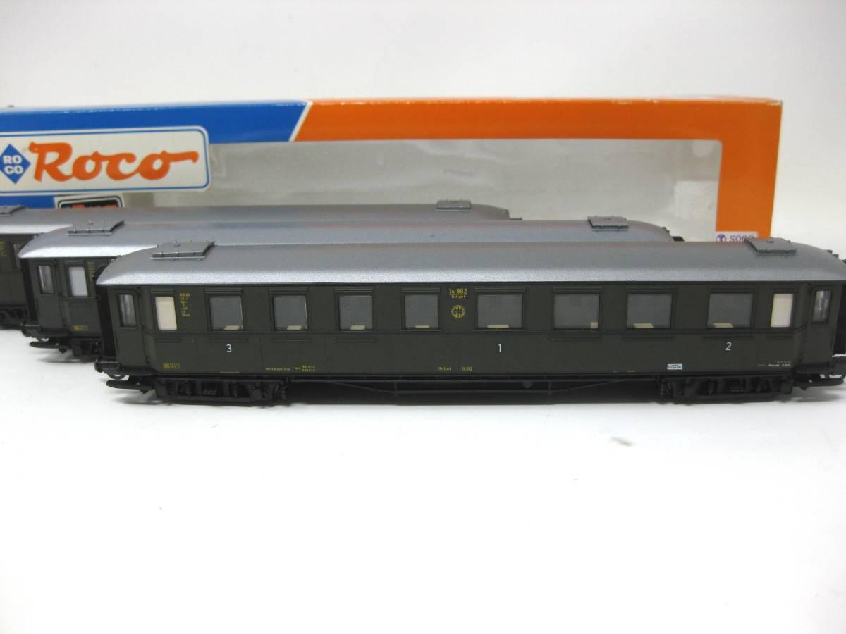 HOゲージ ロコ 44530.44531.44532 ROCO 機関車 鉄道模型 検索 列車 電車 車両 機関車 超希少品 保管品 動作未確認品 3両セット_画像5