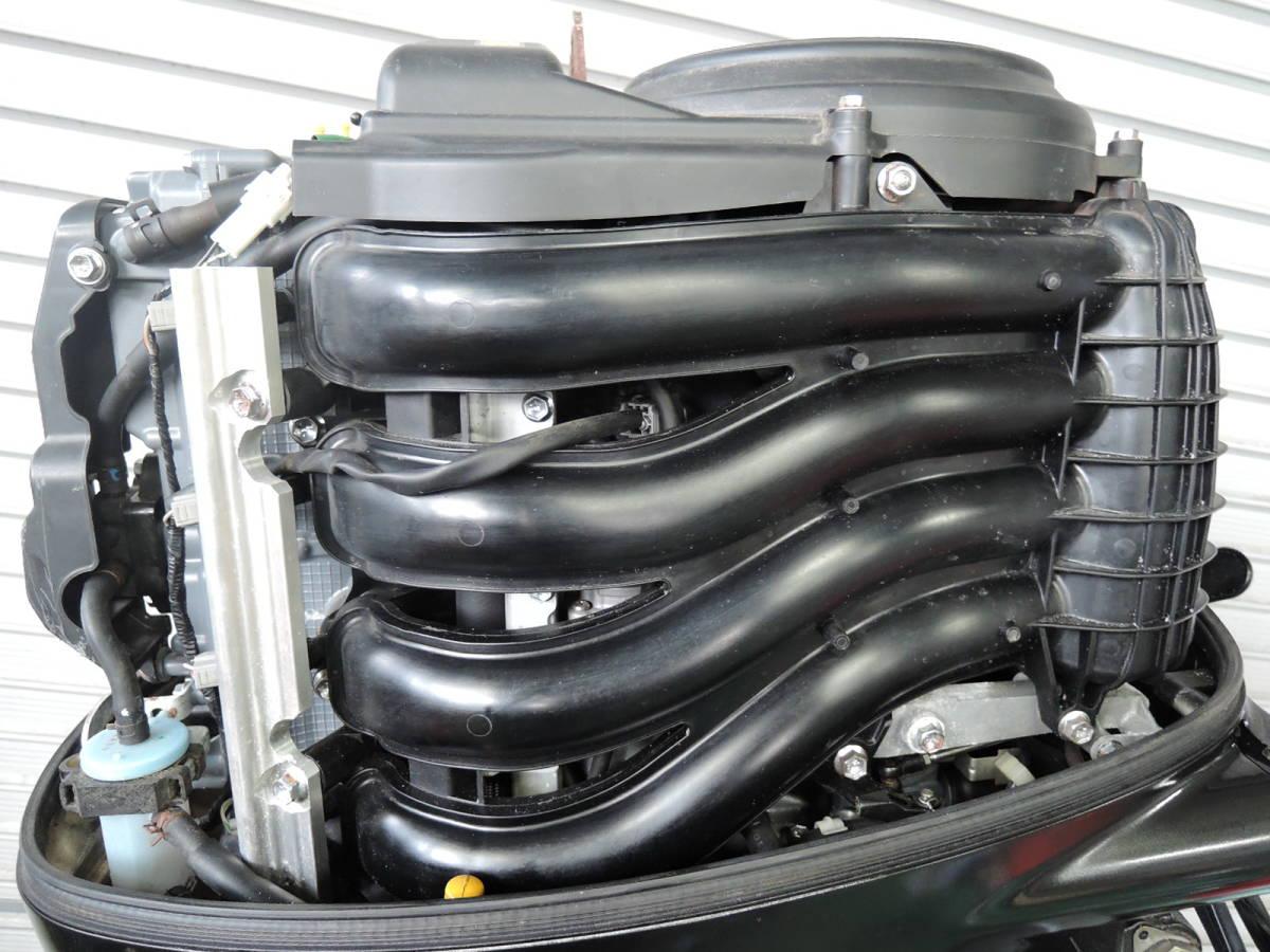 エンジン始動OK SUZUKI スズキ 船外機 90馬力 4スト インジェクション 付属品付 S380418 ヤマハ トーハツ ホンダ 60 70 80 100 115 130_画像3