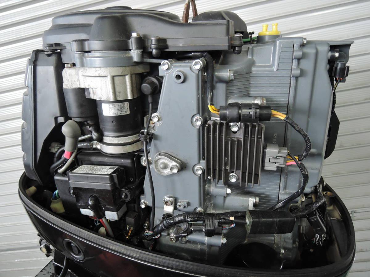 エンジン始動OK SUZUKI スズキ 船外機 90馬力 4スト インジェクション 付属品付 S380418 ヤマハ トーハツ ホンダ 60 70 80 100 115 130_画像4