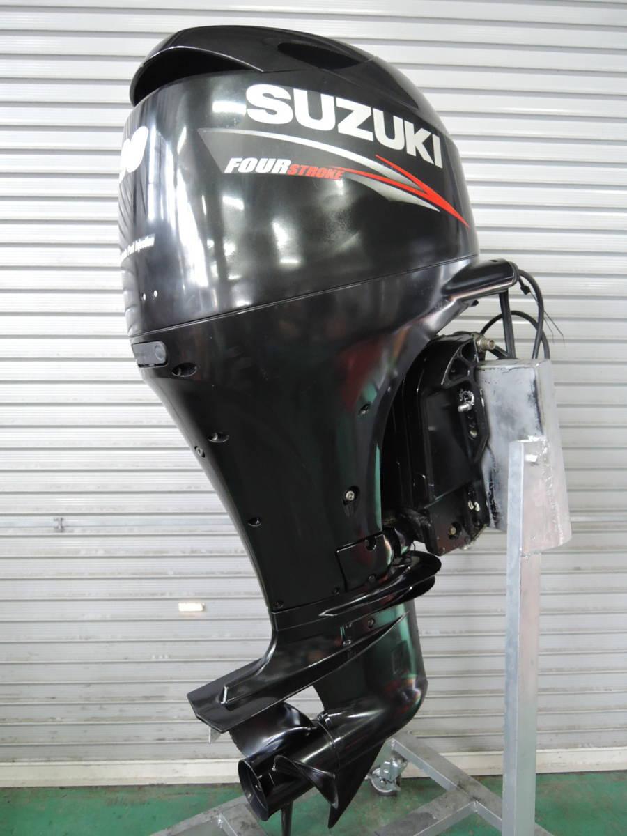エンジン始動OK SUZUKI スズキ 船外機 90馬力 4スト インジェクション 付属品付 S380418 ヤマハ トーハツ ホンダ 60 70 80 100 115 130_画像2