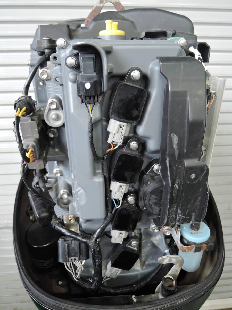 エンジン始動OK SUZUKI スズキ 船外機 90馬力 4スト インジェクション 付属品付 S380418 ヤマハ トーハツ ホンダ 60 70 80 100 115 130_画像5