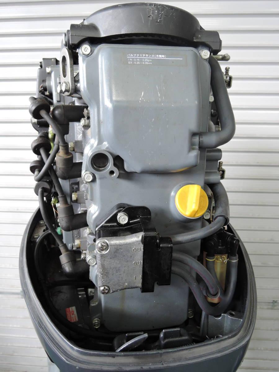 エンジン始動OK YAMAHA ヤマハ 船外機 60馬力 4スト 付属品付 S490418 スズキ トーハツ ホンダ 30 40 50 70 80 90_画像5