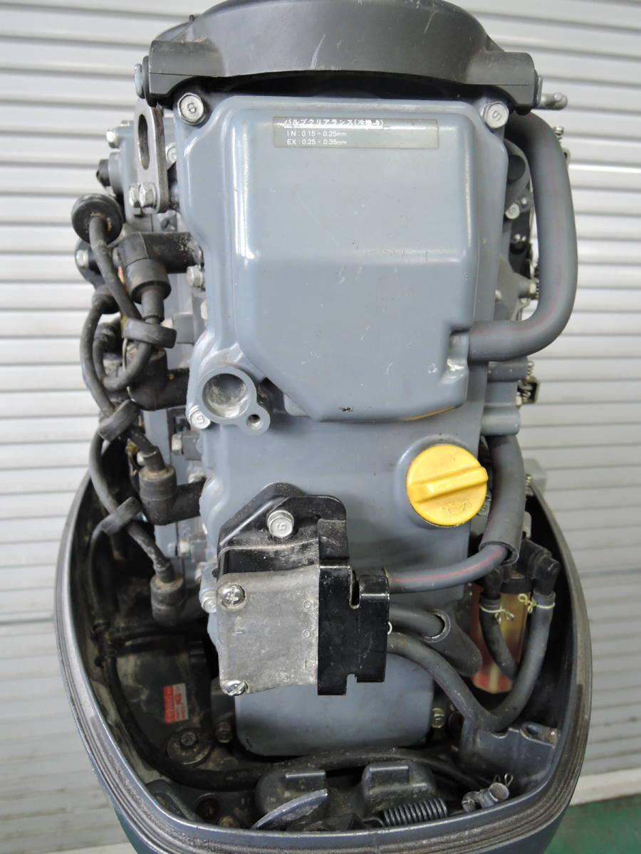 エンジン始動OK YAMAHA ヤマハ 船外機 60馬力 4スト バーハンドル M910416 スズキ トーハツ ホンダ 30 40 50 70 80 90_画像6